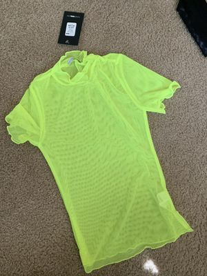 Mesh neon shirt for Sale in Levittown, PA
