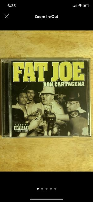 Fat Joe Don Cartegena CD for Sale in Fresno, CA