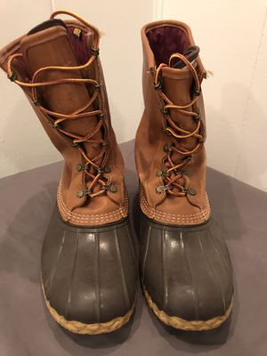 LL Bean boots (men's size 12) for Sale in Annapolis, MD