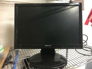 "22"" monitor for PC computer desktop runs great LOOK for Sale in Norwalk, CA"