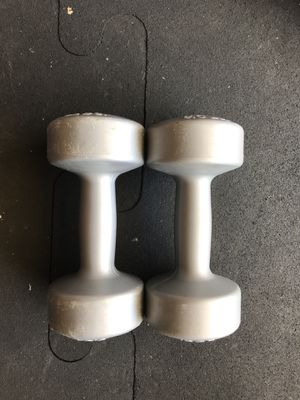 Dumbbells (2x5s) for $3 Firm!!! for Sale in Burbank, CA