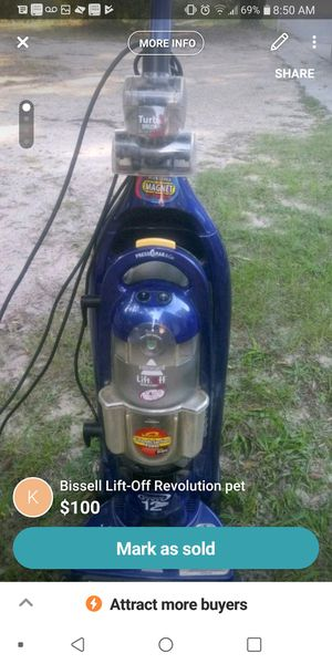Bissell pet lift vacuum for Sale in Pensacola, FL