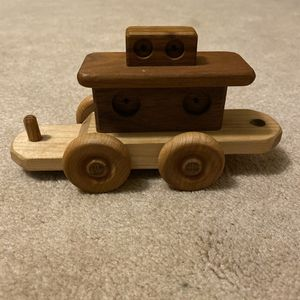 ‼️Wooden Toy Train Car‼️ for Sale in Edgar, WI