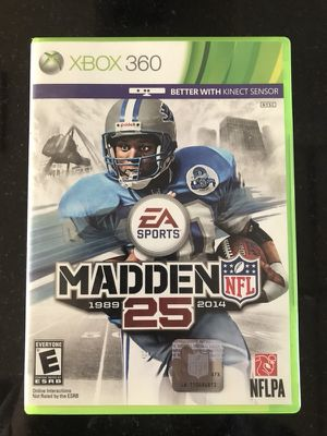 Madden 25 for Xbox 360 for Sale in Lake Stevens, WA