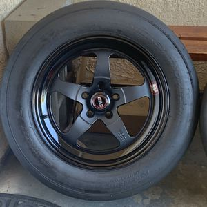 Weld s71 17x10 w/ Mickey Thompson Et Street R Tires for Sale in Burbank, CA