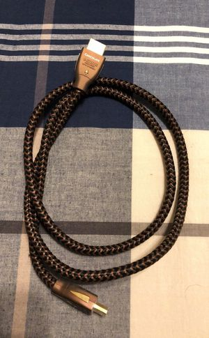 Chocolate HDMI cable high speed/ Ethernet audioquest for Sale in Austin, TX