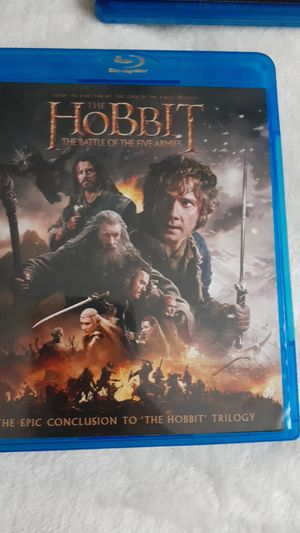 Lord of the rings. (hobbit) bluray movies for Sale in Indianapolis, IN