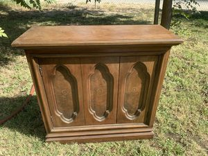 "Solid Wooden Storage Shelf Cabinet 30"" tall for Sale in Kerman, CA"