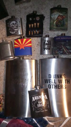 Flasks 10 total for Sale in Phoenix, AZ