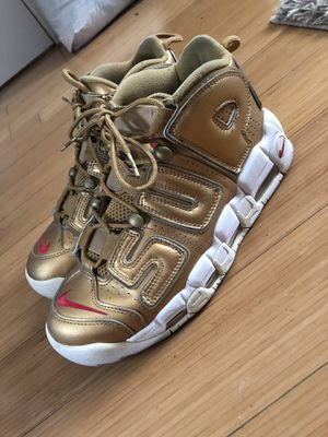 Nike Supreme uptempo size 7 for Sale in Washington, DC