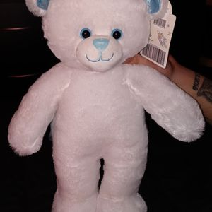 Build A Bear - White Snow Bear - NWT for Sale in St. Petersburg, FL