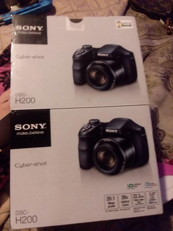 Sony Cyber-shot DSC h200 camera