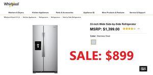 Brand New - Whirlpool Appliance Package for Sale in Rowlett, TX