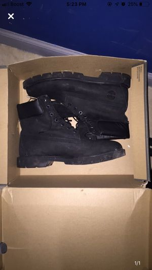 black timberland boots for Sale in Springfield, IL