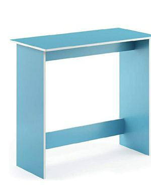 FURINNO SIMPLISTIC LIGHT BLUE & WHITE STUDY TABLE for Sale in Las Vegas, NV
