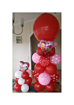 Valentine's Day Balloon Columns, Balloon Garlands, Balloon Arches for Sale in Eustis, FL