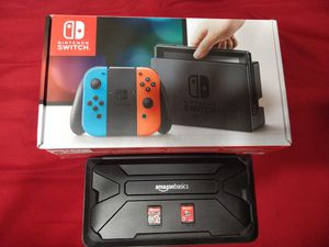 Nintendo switch with extra for Sale in Coral Springs, FL