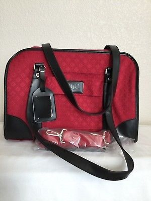 """Joy Mangano Overnight Travel Bag Carry On Luggage Lightweight Red 12"""" High for Sale in Dearborn Heights, MI"""