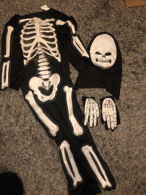 Boy skeleton costume for Sale in Los Angeles, CA