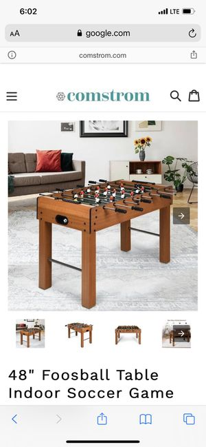 "48"" Foosball Table Indoor Soccer Game! New! $80! for Sale in Riverside, CA"