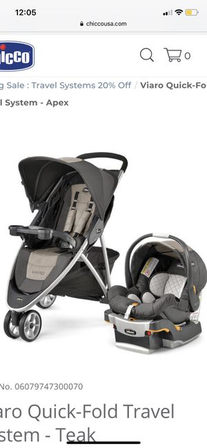 Chicco baby stroller + car seat for Sale in East Rutherford, NJ
