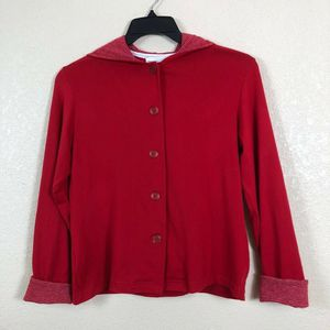 Toto N Co - Petite - Women - Hoodie - Sweater - Jacket - Red - Size: P XS for Sale in Pembroke Pines, FL