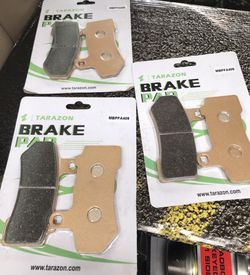 3 tarazon motorcycle brake pads for Sale in Prineville,  OR