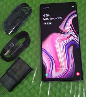 Samsung Galaxy Note 9, Factory Unlocked phone, Works perfectly, Excellent condition like new. for Sale in Springfield, VA