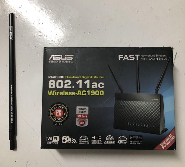 ASUS RT AC68U gigabite router