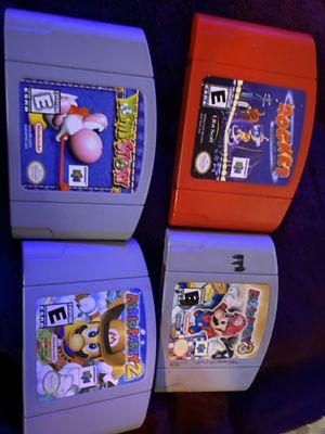 Nintendo 64 games TRADE for Sale in Glendale, AZ