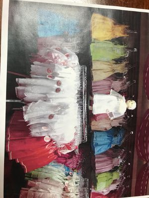 Dresses, shoes, bouquets, baptism gowns, crowns for Sale in Kyle, TX