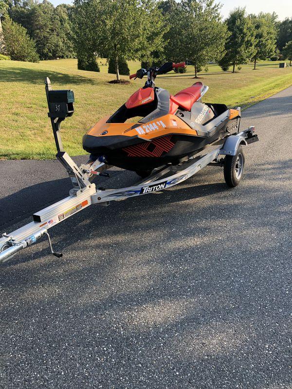 2018 Seadoo Spark Trixx 3 up