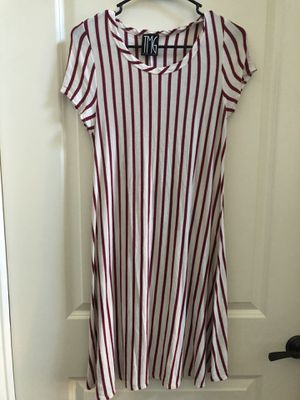 Red and White Stripped Dress for Sale in Concord, CA