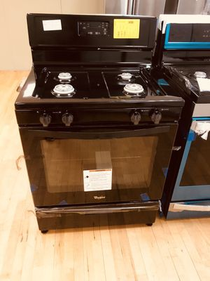New Range Whirlpool Gas Black for Sale in Lake Worth, FL