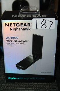 NETGEAR NIGHTHAWK AC1900 WIFI USB ADAPTOR MODEL A7000 for Sale in Dallas, TX