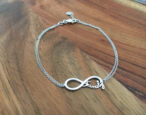 "925 Sterling Silver ""Family"" Bracelet for Sale in Hesperia, CA"