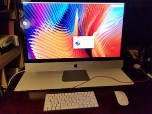 "Late 2015 Apple iMac 27"" Retina, all in one desktop computer. TRUE 5K LCD. Thin sleek model. Retail box for Sale in St. Petersburg, FL"