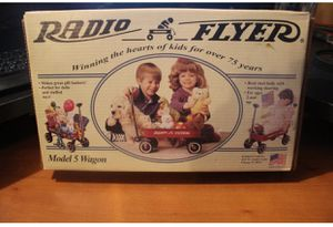 New In Box Radio Flyer Model Wagon-Perfect for dolls, stuffed animals, or gift baskets! for Sale in Norman, OK