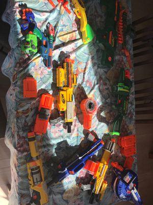 Nerf Dart Gun Lot for Sale in Norwich, CT