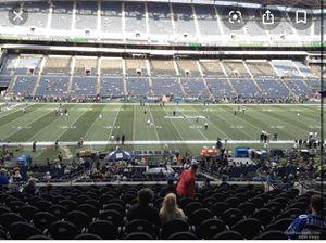 SEAHAWKS VS RAVENS 10/20 CLUB SEATS (4) for Sale in Seattle, WA