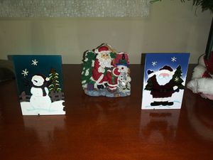 3pcs of Christmas Decor for Sale in Temple, GA