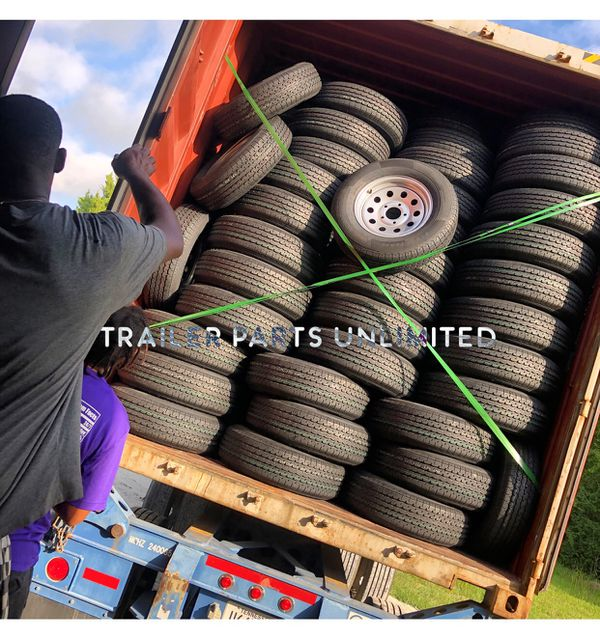 "14"", 15"", 16"", 17.5"" Trailer Tire and Wheel combos best price"
