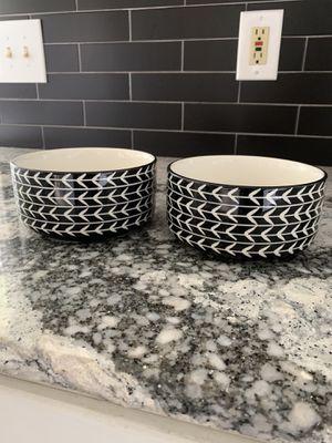 Ceramic Dog Bowl Set for Sale in Cornelius, OR