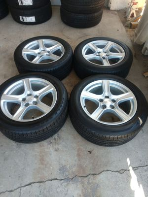 """2017 Chevy Camaro wheels and tires 18"""" 5x120 for Sale in Chino, CA"""