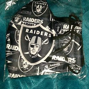 Raiders Face Mask for Sale in Los Angeles, CA