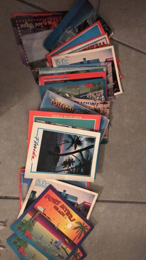 All these post cards for One price > offer up for Sale in Miami, FL