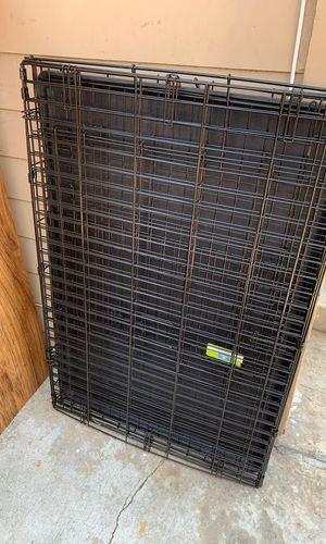 """42"""" Double Door Metal Dog Crate for Sale in Pasadena, CA"""