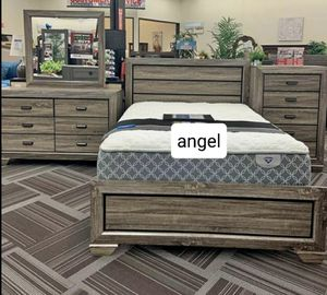 🧿 ON DISPLAY 🧿Farrow Grayish Brown Panel Bedroom Set for Sale in Jessup, MD