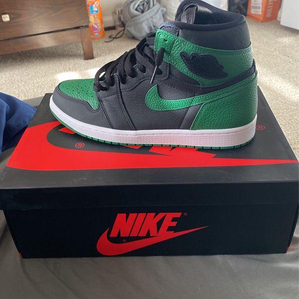 Brand new Jordan 1 High Green Pine. Size 10