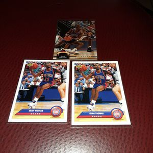 Isiah Thomas Basketball card Lot for Sale in Tampa, FL